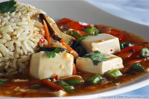 Vegetarian Ma-Po TofuPham Fatale