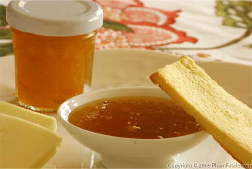 Homemade Kumquat Marmalade