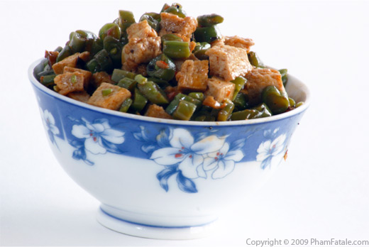 Mir's Special: Green Beans and Tofu Stir Fry Recipe