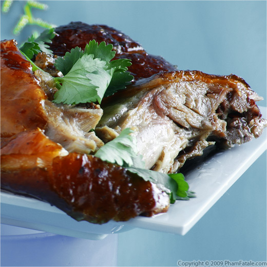 Homemade Peking Crispy Roast Duck Recipe