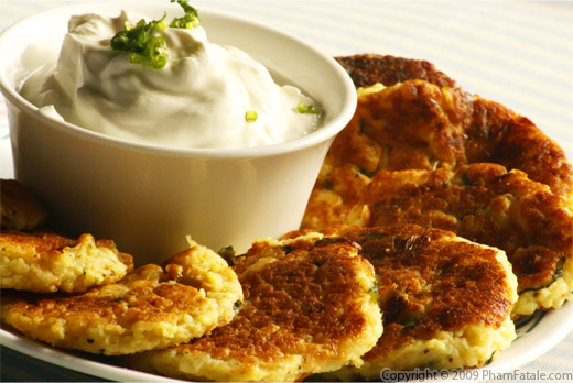 Indian potato latke recipe