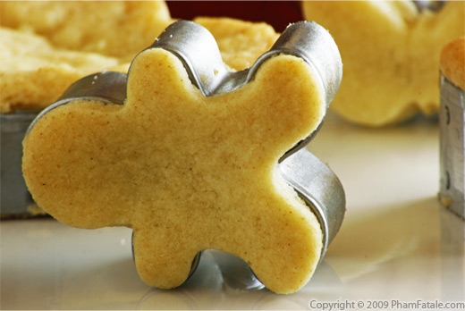 Shortbread Cookies Recipe with Picture