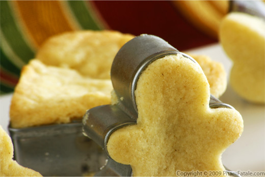 Sable Cookies (French Buttery Shortbread)