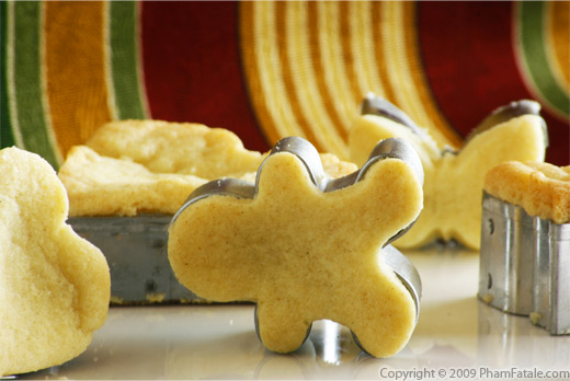 Sable Shortbread Cookie Recipe with Picture