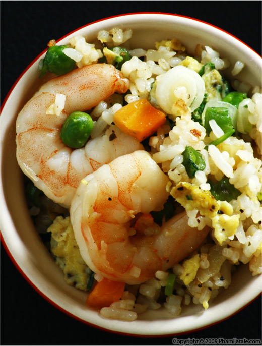 Shrimp Fried Rice (Com Chien Tom in Vietnamese) Recipe