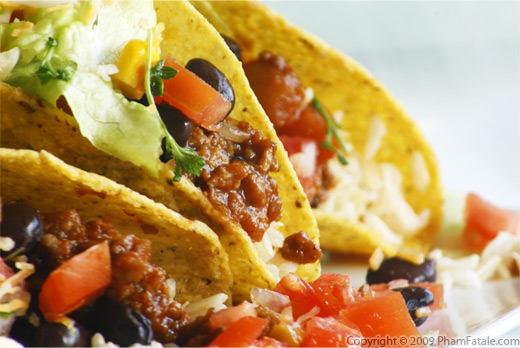 Vegetarian Tacos Recipe
