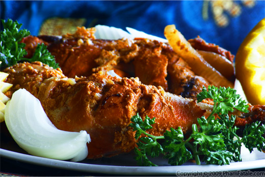 Tandoori Chicken Thighs Recipe