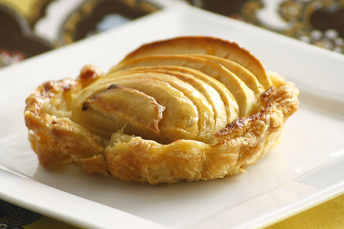 Tarte Amandine (Apple Tart with Almond Cream)