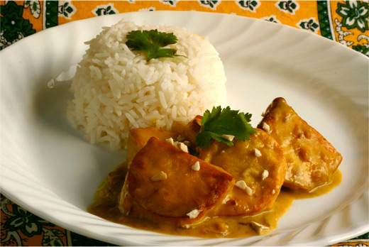Vegetarian Thai Tofu Satay with Peanut Sauce Recipe
