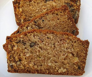 Nut Zucchini Bread Recipe