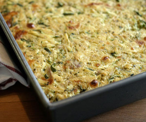 Zucchini Jalapeno Spoon Bread Recipe