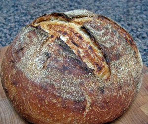Levain Bread with Caramelized Onions Recipe