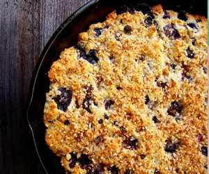 Wild Blueberry Bannock Recipe