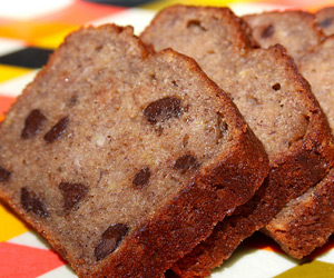 Gluten-Free Banana Bread with Chocolate Recipe