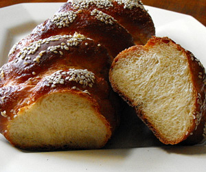 Home-made Challah Recipe