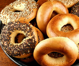 Sourdough Bagels with Wheat Gluten Recipe