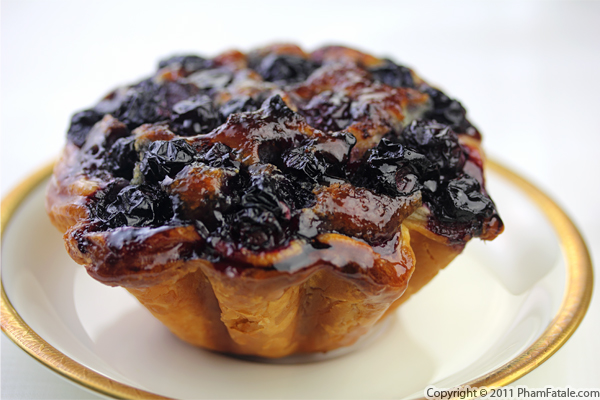 Blueberry Almond Tart Recipe Recipe