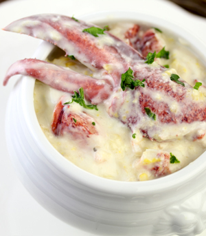 Lobster Corn Chowder Recipe