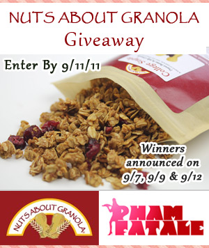 Nuts About Granola Giveaway