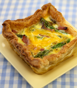 Potato Quiche Lorraine Recipe