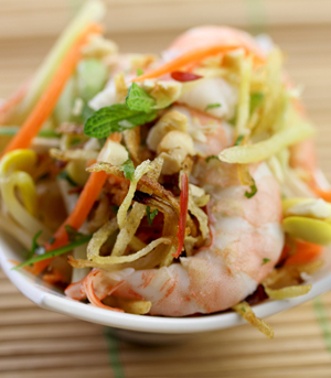 Vietnamese-Style Shrimp and Potato Salad